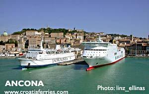 Ferry port Ancona