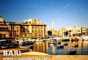 Ferry port Bari
