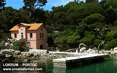 Ferry port Lokrum (Portoc Bay)