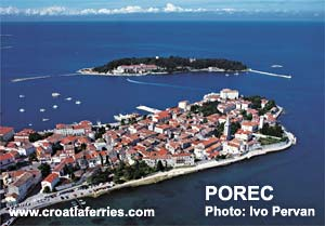 Ferry port Porec