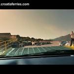 Video : Disembarking Jadrolinija's ferry by car