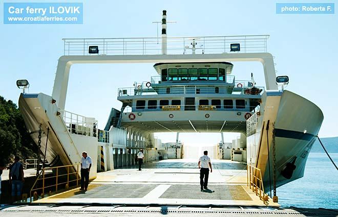 Ferry Ilovik Croatia Ferries