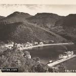 Ferry in Trstenik, Peljesac in 1930s