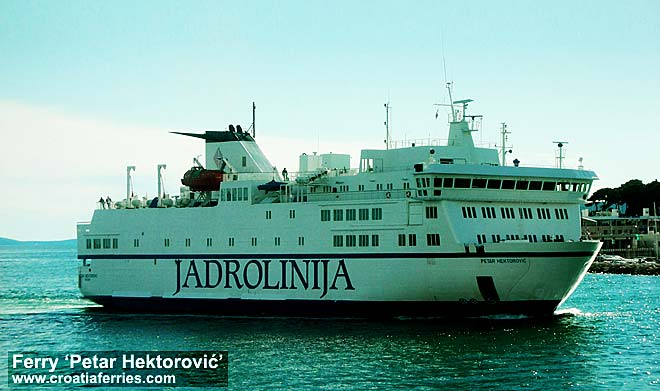 Ferry Petar Hektorovi, Croatia