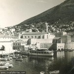 Ferries Takovo and Jugoslavija in Dubrovnik and Korcula in 1960s