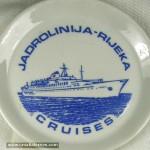 Jadrolinija Cruises Souvenir Plate