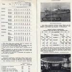 Jadrolinija's ferry schedules from 1960