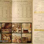 Jadrolinija's ferry brochure from 1984