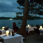 Romantic Al Fresco Dining with Ferry Views