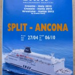 Timetable, schedules and prices for Ancona to Split ferries - SNAV