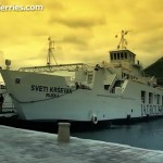 Video : Embarking Jadrolinija's ferry by car