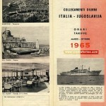 Ferry schedules from Venice to Dubrovnik from 1965