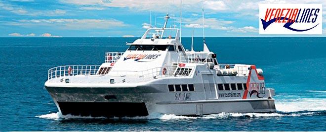 venezialines ferry catamaran