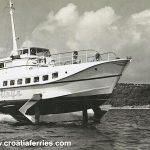 Hydrofoil 'Vihor' in 1960s