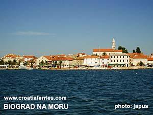 Ferry port Biograd na Moru