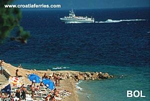Ferry port Bol (Brac)