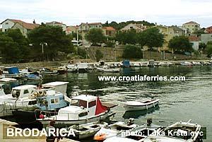Ferry port Brodarica