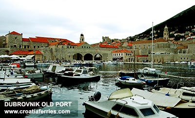 Ferry port Dubrovnik (Old Town Port)