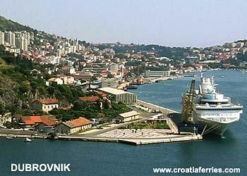 Ferry port Dubrovnik