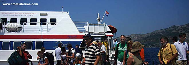 Frequently Asked Questions about ferries in Croatia