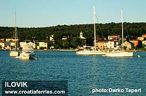 Ferry port Ilovik