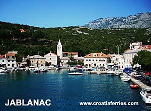 Ferry port Jablanac