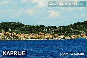 Ferry port Kaprije