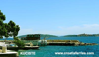 Ferry port Kuciste