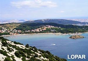 Ferry port Lopar