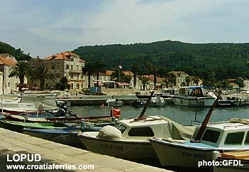 Ferry port Lopud