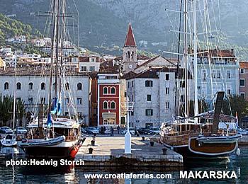 Ferry port Makarska