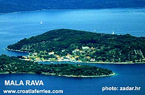 Ferry port Mala Rava