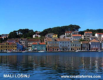 Ferry port Mali Losinj