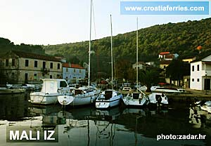 Ferry port Mali Iz