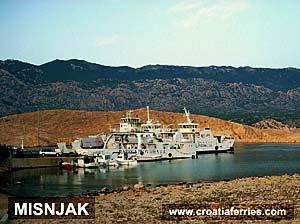 Ferry port Misnjak