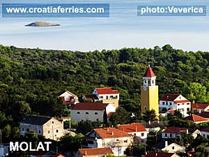 Ferry port Molat