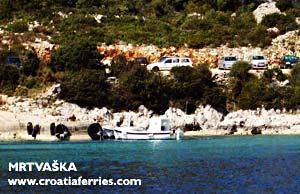 Ferry port Mrtvaska