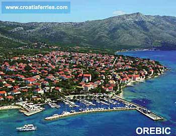 Ferry port Orebic