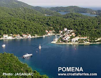 Ferry port Pomena (Mljet)