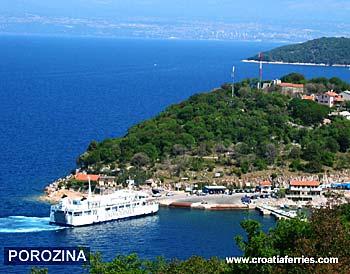 Ferry port Porozina (Cres)