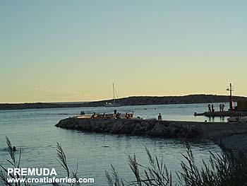 Ferry port Premuda