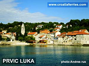 Ferry port Prvic Luka