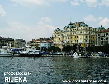 Ferry port Rijeka