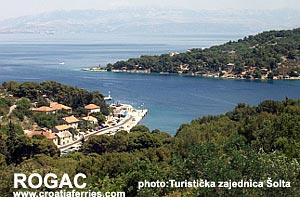 Ferry port Rogac