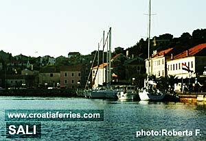 Ferry port Sali