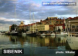 Ferry port Sibenik