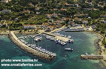 Ferry port Silba