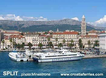 Ferry port Split