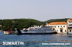 Ferry port Sumartin (Brac)
