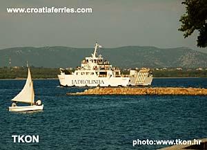 Ferry port Tkon